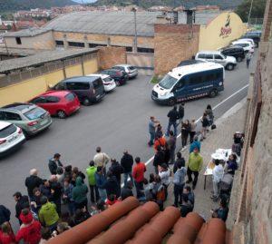 Arriben els mossos